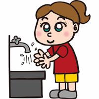 手洗いしよう!